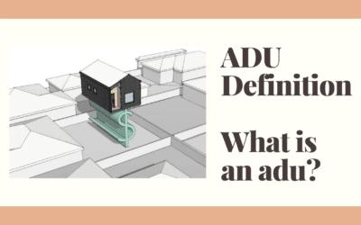 ADU Definition
