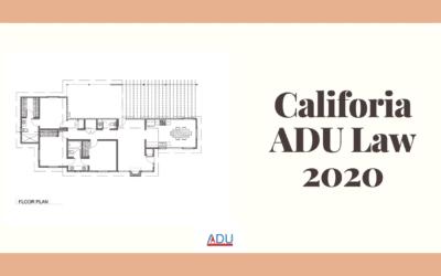 California ADU Law 2020