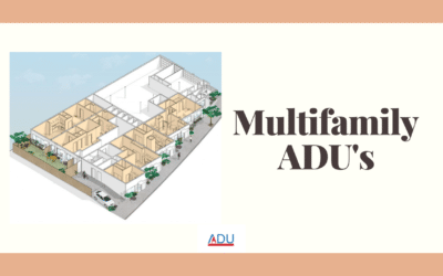 Multifamily ADU's